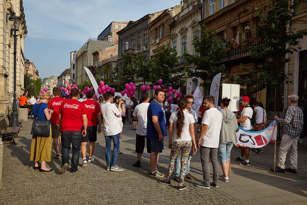 la parada Corporate Games Bucuresti 2015