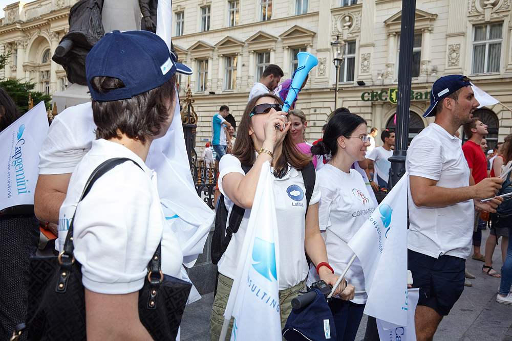 Capgemini la parada Corporate Games Bucuresti 2015