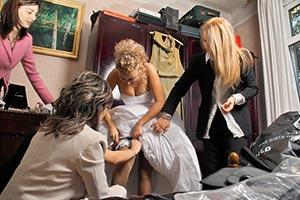 pregatire de nunta gatitul miresei